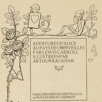 Arthur Rackham, Aventures d'Alice au pays des merveilles de Lewis Carroll, 1908 - [Détail] © Gallica BnF